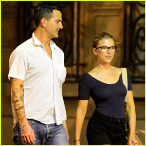 Scarlett Johansson & Nate Naylor: Schmuck Dinner in Paris!