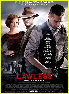 Tom Hardy & Shia LaBeouf: New 'Lawless' Poster!