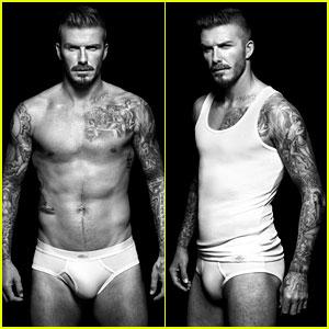 Shirtless David Beckham Bodywear Campaign Images!