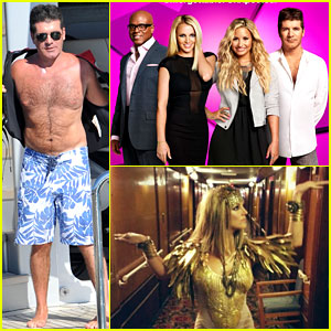 Shirtless Simon Cowell: New 'X Factor' Promo Poster!