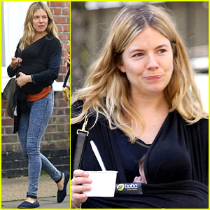 Sienna Miller & Marlowe: Mommy-Daughter Outing!