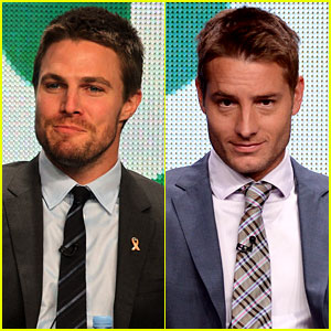 Stephen Amell & Justin Hartley: CW Studs!
