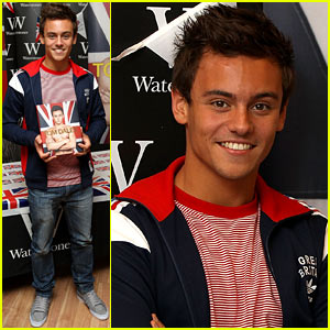 Tom Daley: 'My Story' Book Signing!
