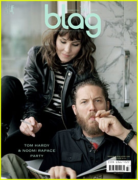 Tom Hardy & Noomi Rapace Cover 'Blag' Magazine
