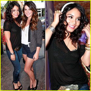 Vanessa Hudgens: Activate Pop-Up Shop with Shenae Grimes!