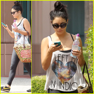 Vanessa Hudgens: 'I Left My Heart in Indio!'