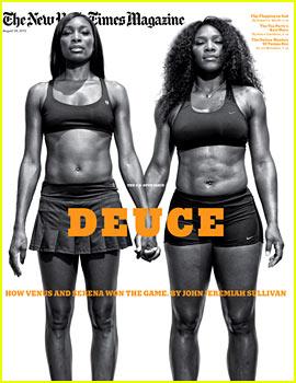 Venus & Serena Williams Cover 'New York Times Magazine'