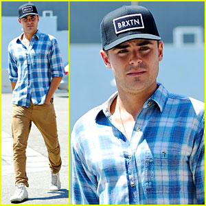 Zac Efron: Asanebo Lunch in Los Angeles!