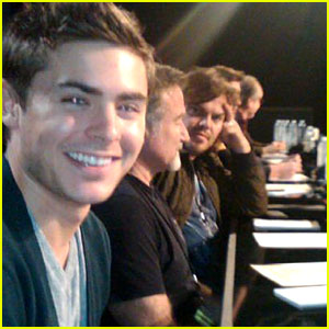 Zac Efron: Photo-Bombed By Jack Black!