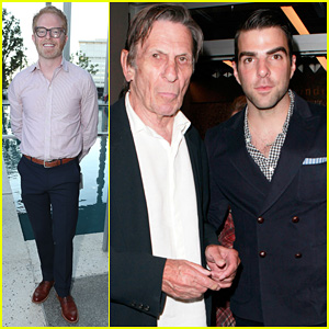 Zachary Quinto & Jesse Tyler Ferguson: 'Red' Opening Night!