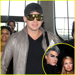 Adam Lambert on Paris Hilton: 'She's Not Worth It'