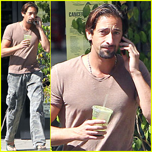 Adrien Brody Steps Out After 'Motor City' Shuts Down