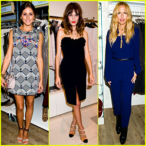Alexa Chung & Olivia Palermo: Fashion's Night Out!