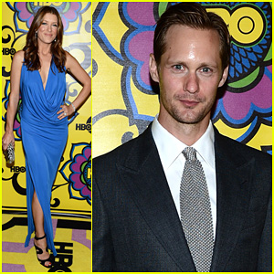 Alexander Skarsgard - HBO's Emmys After Party!