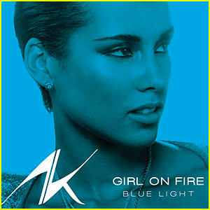 Alicia Keys' 'Girl On Fire (Blue Light Version)' - Listen Now!