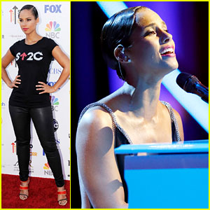 Alicia Keys: 'Not Even A King' for Stand Up To Cancer!