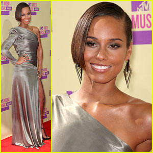 Alicia Keys - MTV VMAs 2012 Red Carpet