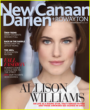 Allison Williams Covers 'New Canaan-Darien' Magazine