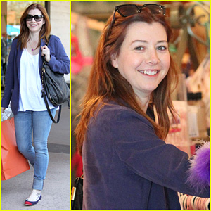 Alyson Hannigan And Sarah Michelle Gellar 2013