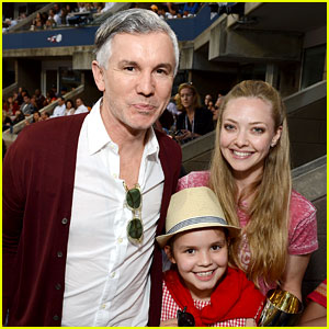 Amanda Seyfried: U.S. Open with Baz Luhrmann!