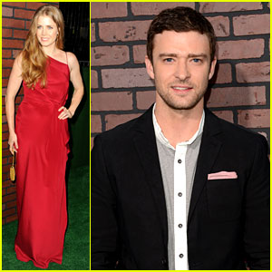 Amy Adams & Justin Timberlake: 'Trouble with the Curve' Premiere!