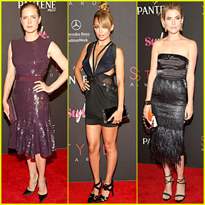 Amy Adams & Nicole Richie - 2012 Style Awards!