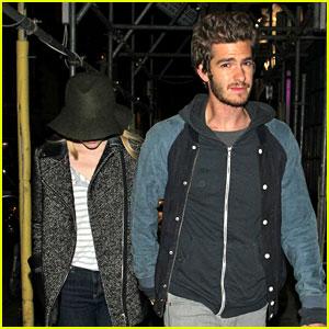 Andrew Garfield & Emma Stone: Low Profile in London!