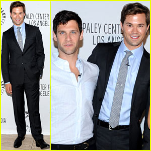 Andrew Rannells: 'New Normal' PaleyFest with Justin Bartha!