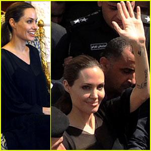 Angelina Jolie Meets With Kurdistan Regional Prime Minister