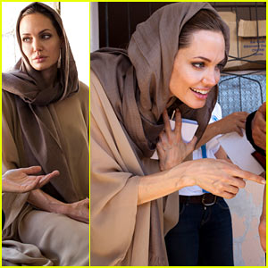 Angelina Jolie: Bekaa Valley Refugee Visit