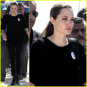 Angelina Jolie: Zaatari Refugee Camp Visit!