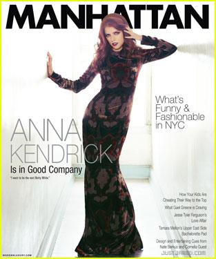 Anna Kendrick Covers 'Manhattan' Magazine