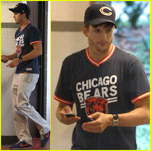 Ashton Kutcher: Cedar-Sinai Medical Center Visit