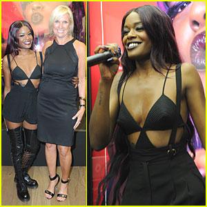 Azealia Banks: Fashion's Night Out Performer!
