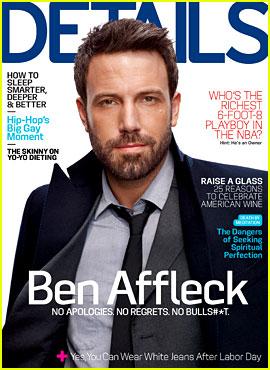 Ben Affleck Talks Blake Lively in 'Details' October 2012