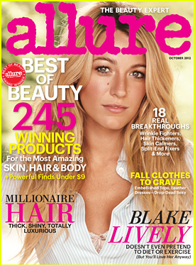 Blake Lively Covers 'Allure' October 2012!