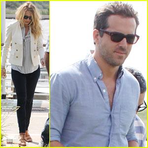 Blake Lively & Ryan Reynolds: Bye Bye, Venice!