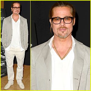 Brad Pitt: 'Killing Them Softly' Screening in London!
