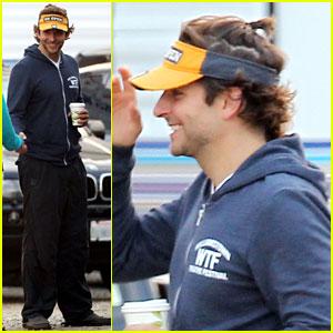 Bradley Cooper  Ponytail on  Hangover Part III  Set!  416f573d5cd
