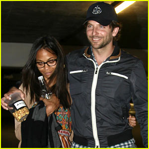 Bradley Cooper & Zoe Saldana: 'The Master' Movie Date!