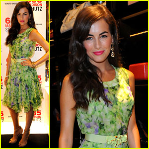 Camilla Belle: Schutz Store Launch for NYFW!