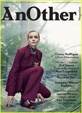 Carey Mulligan Covers 'AnOther' Fall 2012!