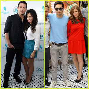 Channing Tatum & Jenna Dewan: '10 Years' Brunch!