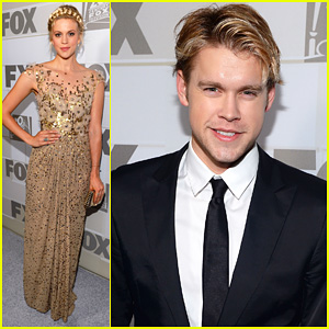 Chord Overstreet & Georgia King - Fox's Emmys After Party