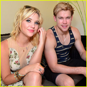 Chord Overstreet: Muscle Tank Stud with Ashley Benson!