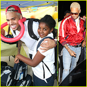 Chris Brown: Jenesse Back to School Fall Festival!