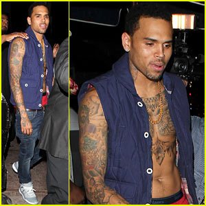 Chris Brown: The Game's 'Celebration' Music Video!