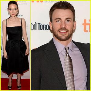 Chris Evans & Winona Ryder: 'Iceman' Premiere at Tiff!