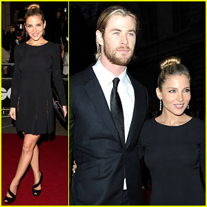Chris Hemsworth & Elsa Pataky: GQ Men of the Year Awards!
