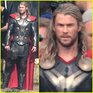 Chris Hemsworth: 'Thor 2' Begins Filming - First Set Pics!